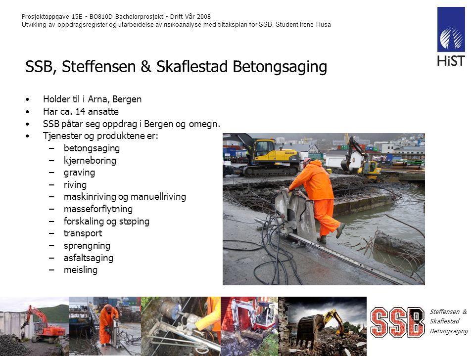 SSB, Steffensen & Skaflestad Betongsaging