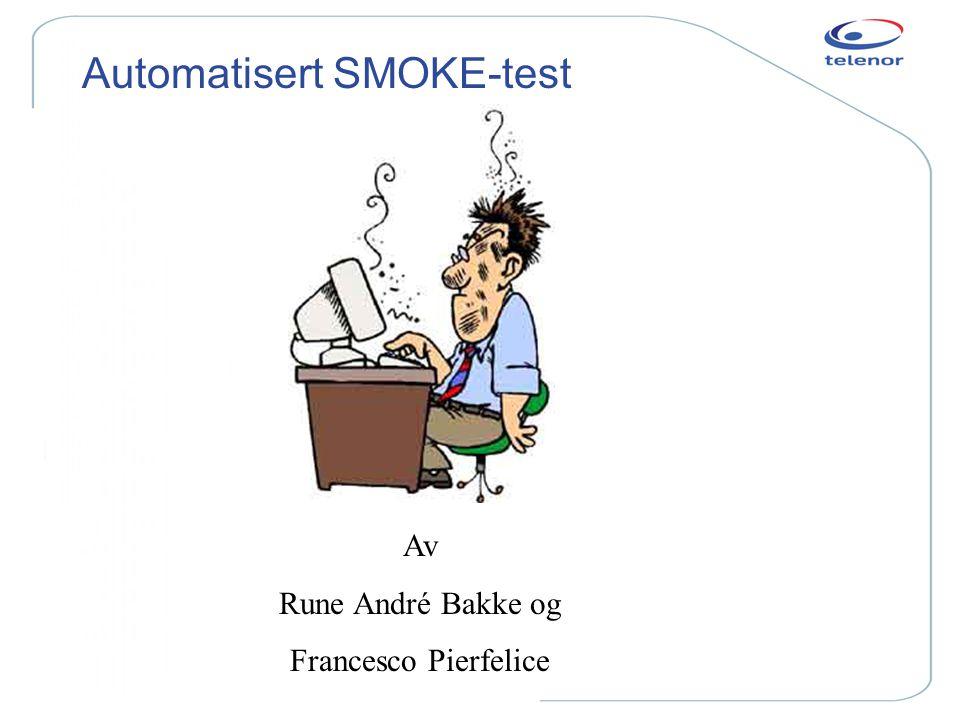 Automatisert SMOKE-test