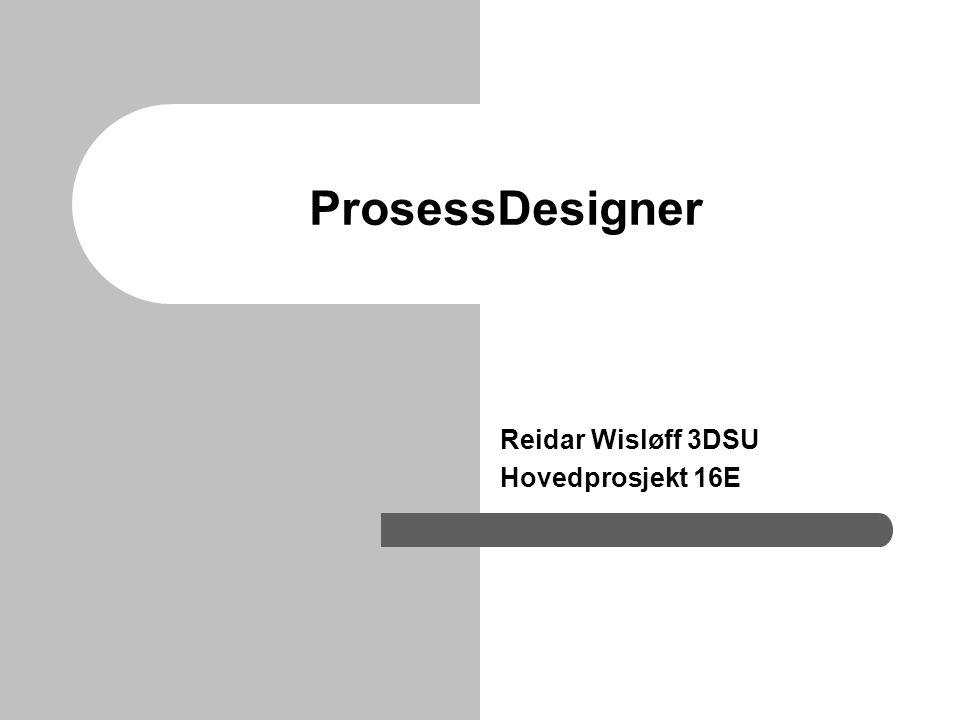 Reidar Wisløff 3DSU Hovedprosjekt 16E