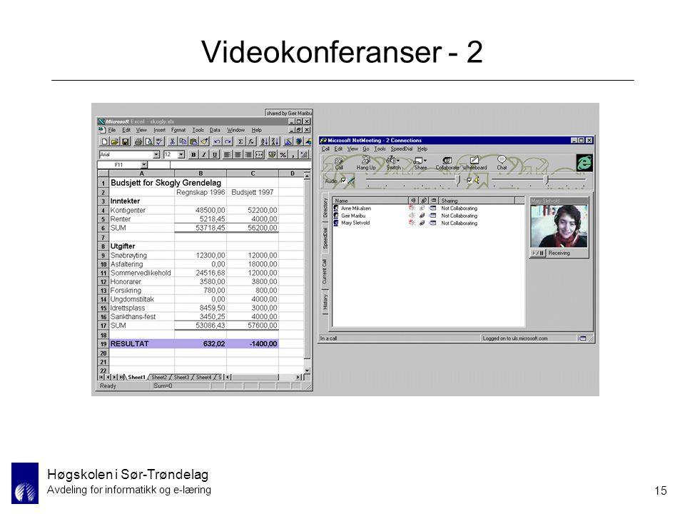 Videokonferanser - 2