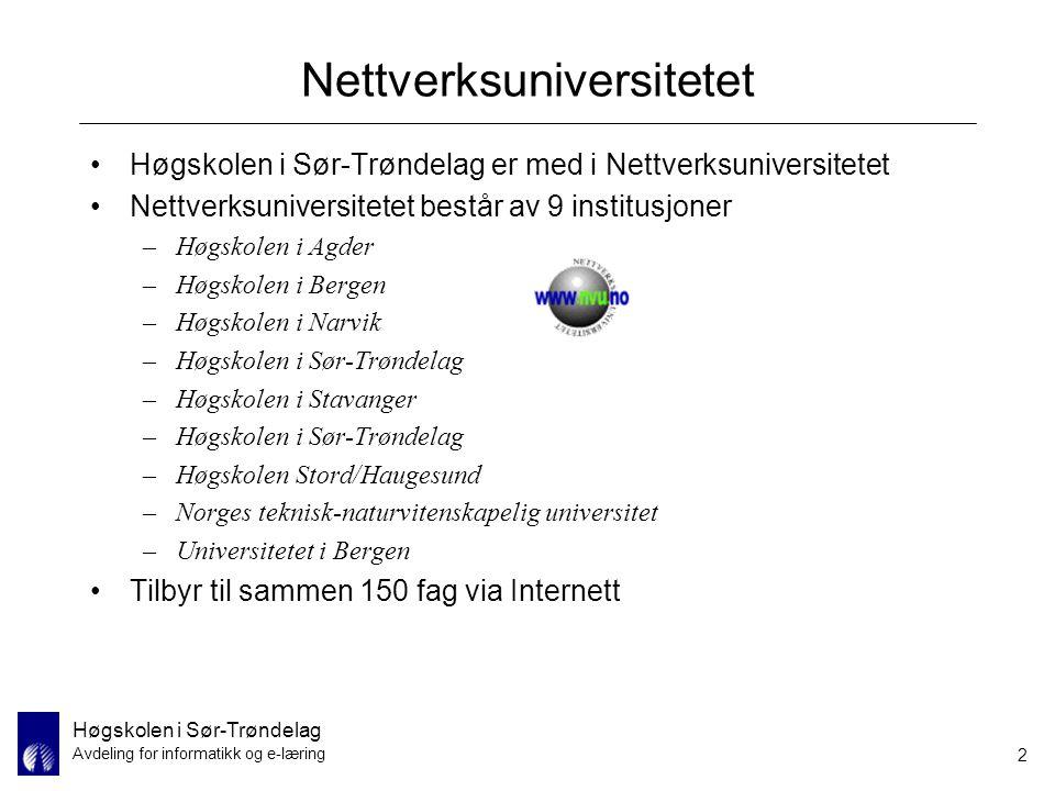 Nettverksuniversitetet