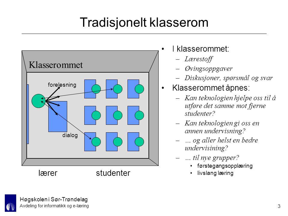 Tradisjonelt klasserom