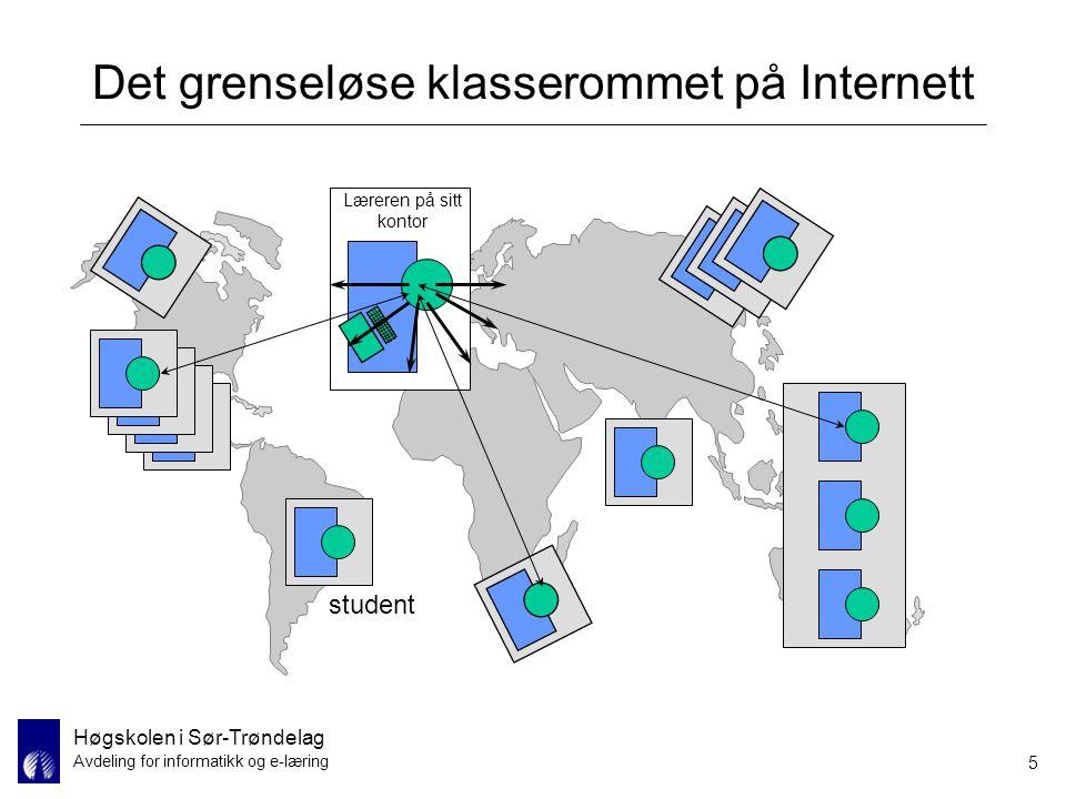 Det grenseløse klasserommet på Internett