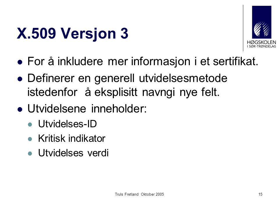 Truls Fretland Oktober 2005