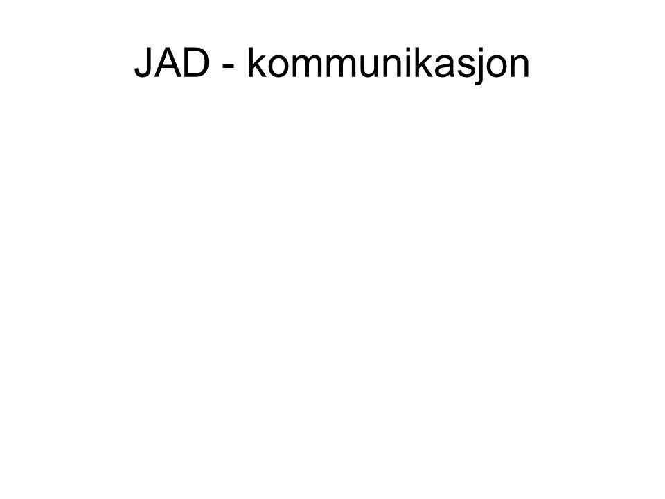 JAD - kommunikasjon