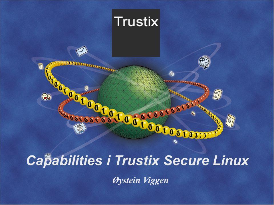 Capabilities i Trustix Secure Linux