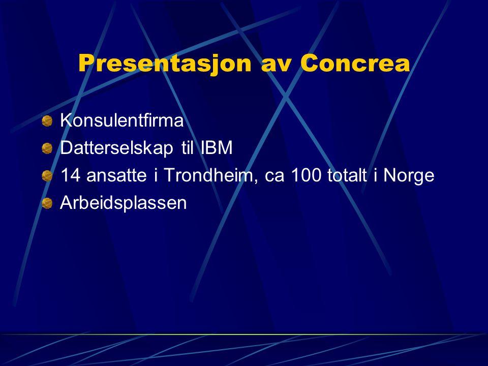 Presentasjon av Concrea
