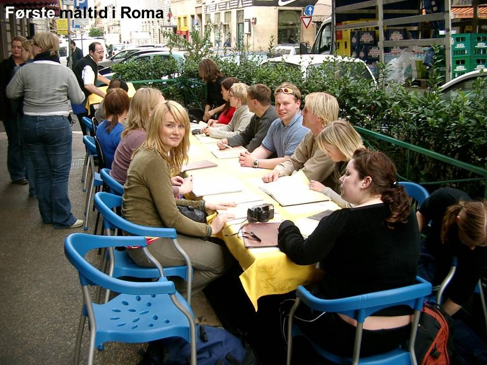 Første måltid i Roma