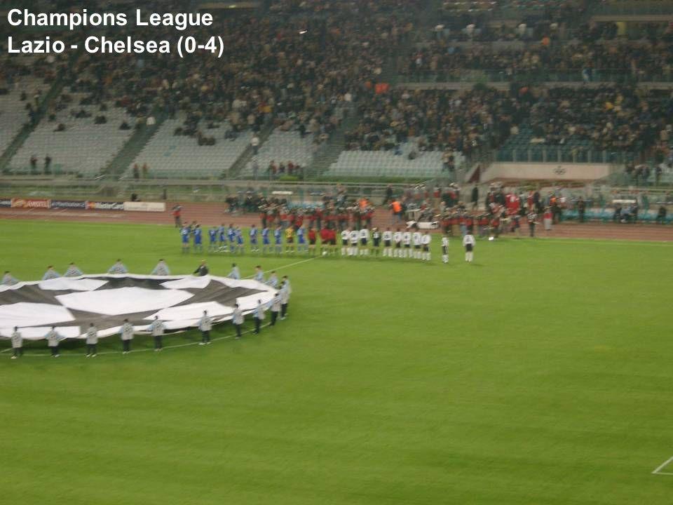 Champions League Lazio - Chelsea (0-4)
