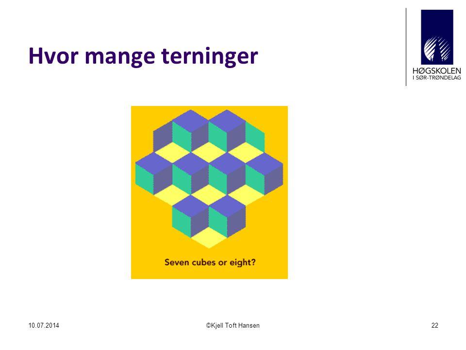 Hvor mange terninger 04.04.2017 ©Kjell Toft Hansen