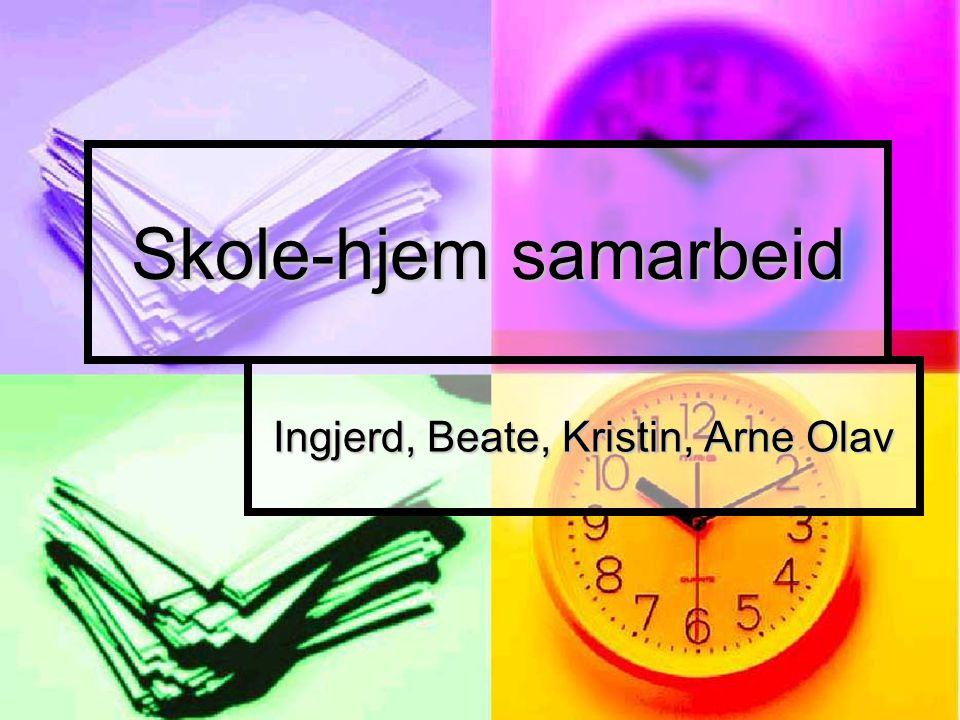 Ingjerd, Beate, Kristin, Arne Olav