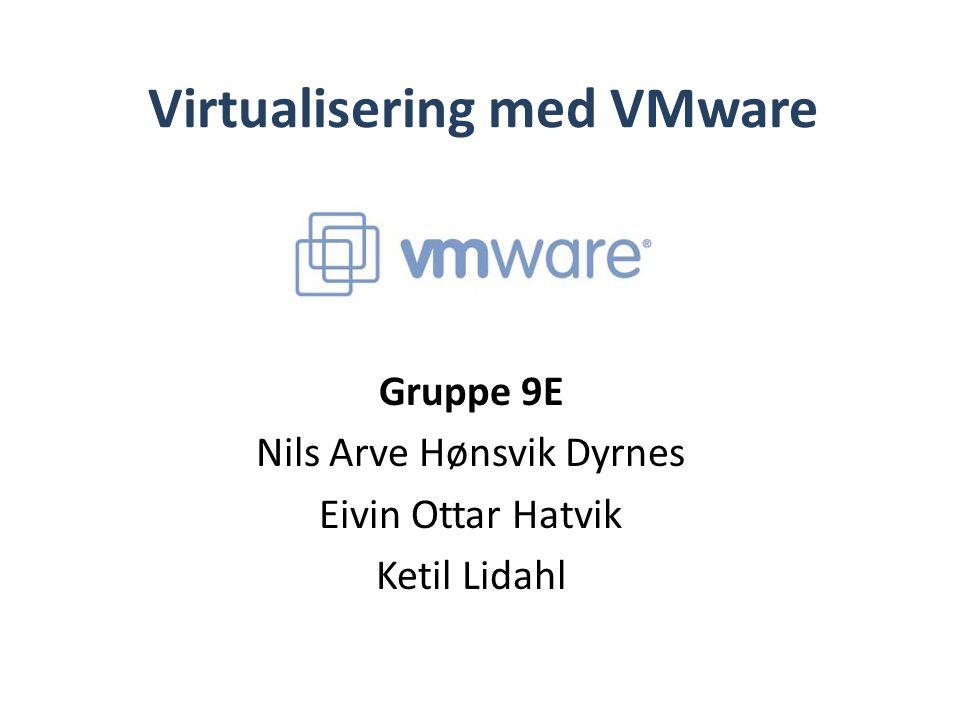 Virtualisering med VMware