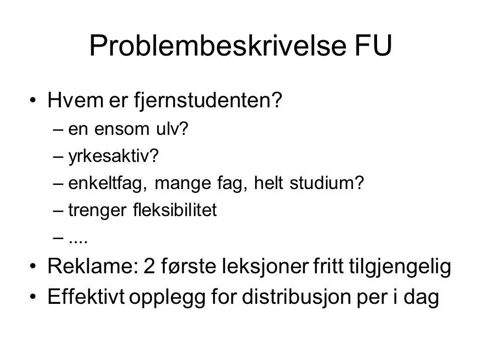 Problembeskrivelse FU
