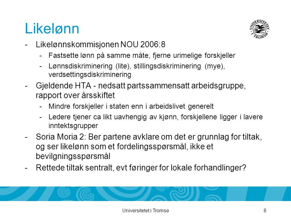Likelønn Likelønnskommisjonen NOU 2006:8