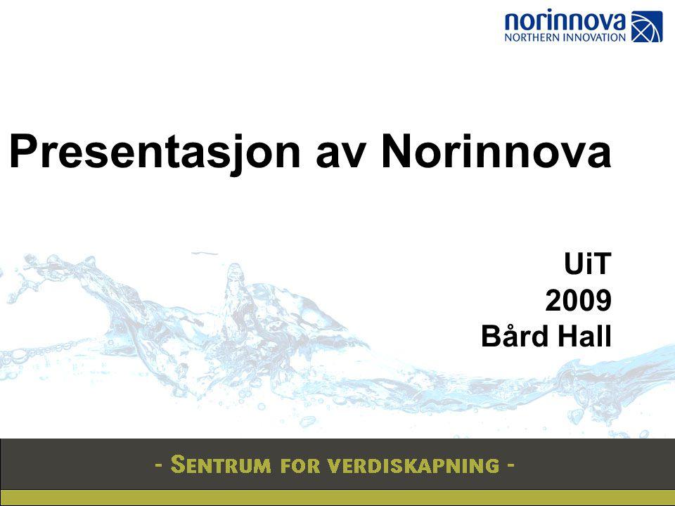 Presentasjon av Norinnova