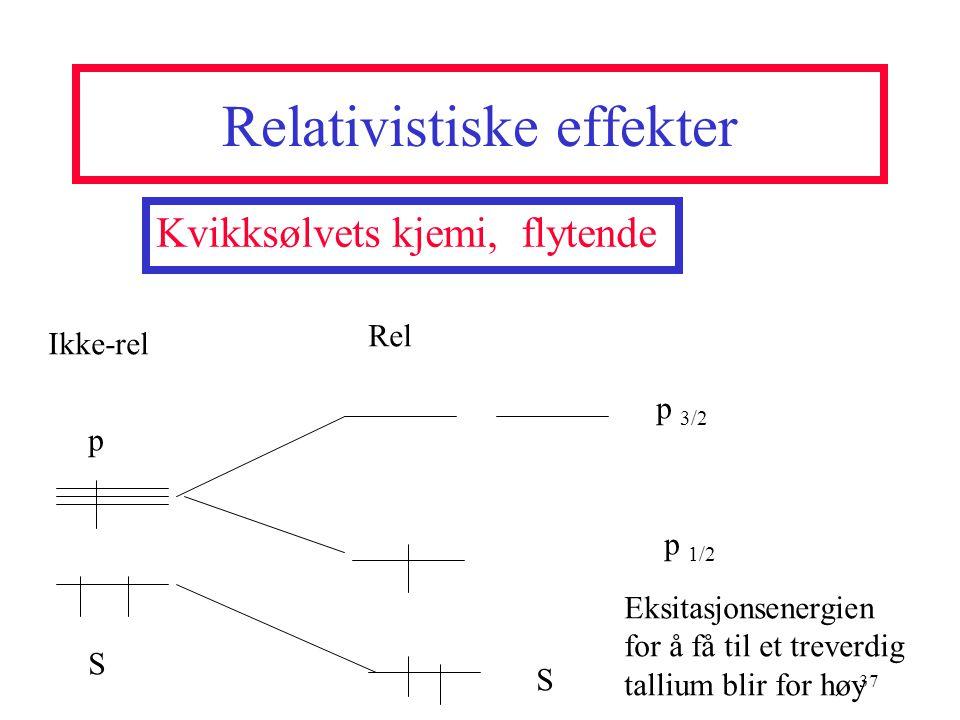 Relativistiske effekter