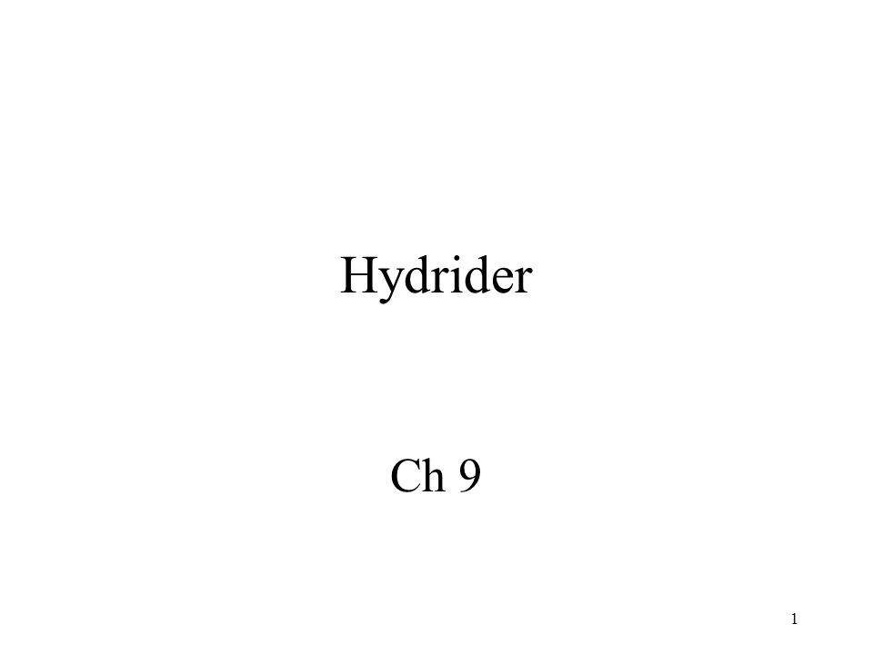 Hydrider Ch 9