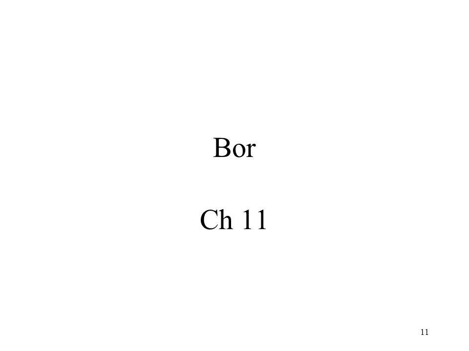 Bor Ch 11