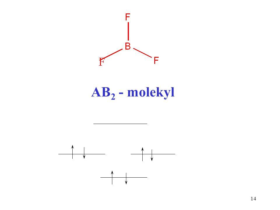 AB2 - molekyl