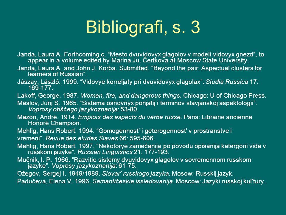 Bibliografi, s. 3