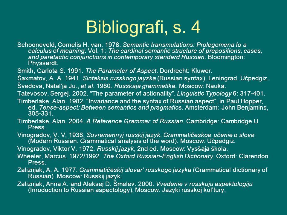 Bibliografi, s. 4