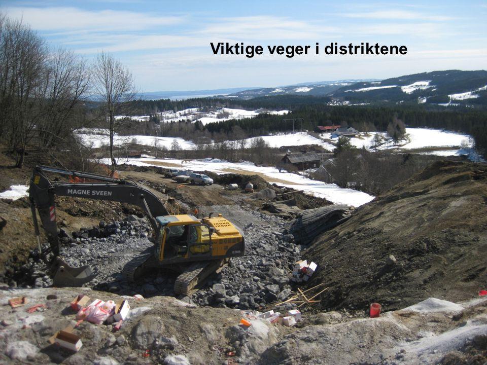 Fv. 255 Grosberg Viktige veger i distriktene