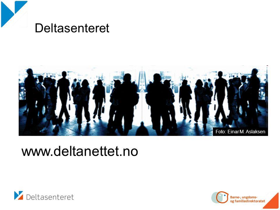 www.deltanettet.no Deltasenteret