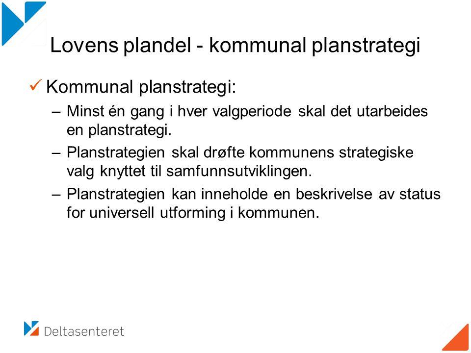 Lovens plandel - kommunal planstrategi