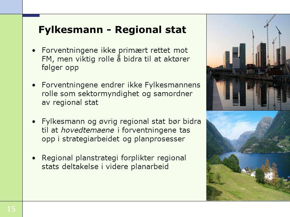 Fylkesmann - Regional stat