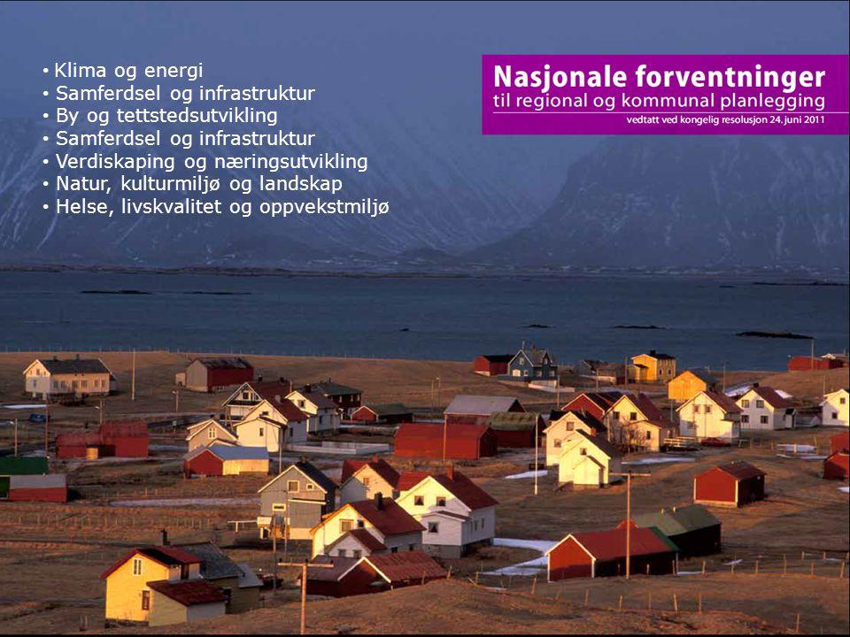 Samferdsel og infrastruktur By og tettstedsutvikling