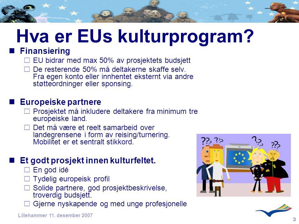 Hva er EUs kulturprogram