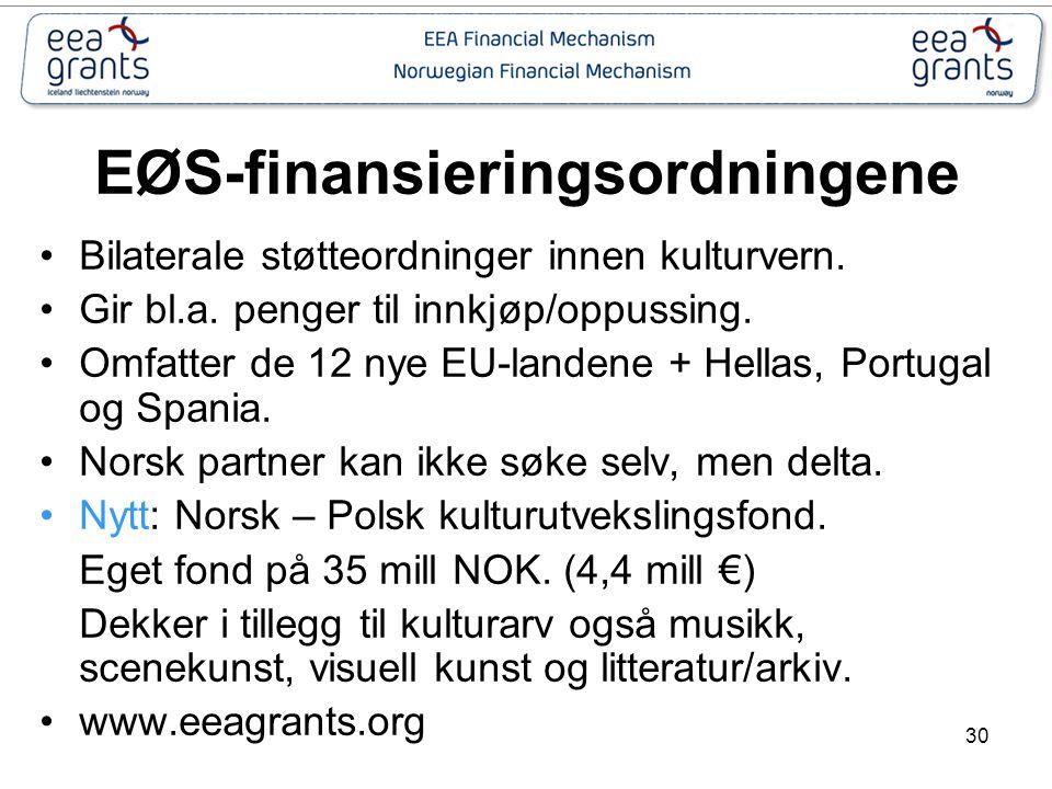 EØS-finansieringsordningene