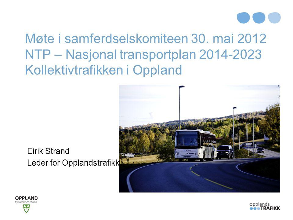 Eirik Strand Leder for Opplandstrafikk