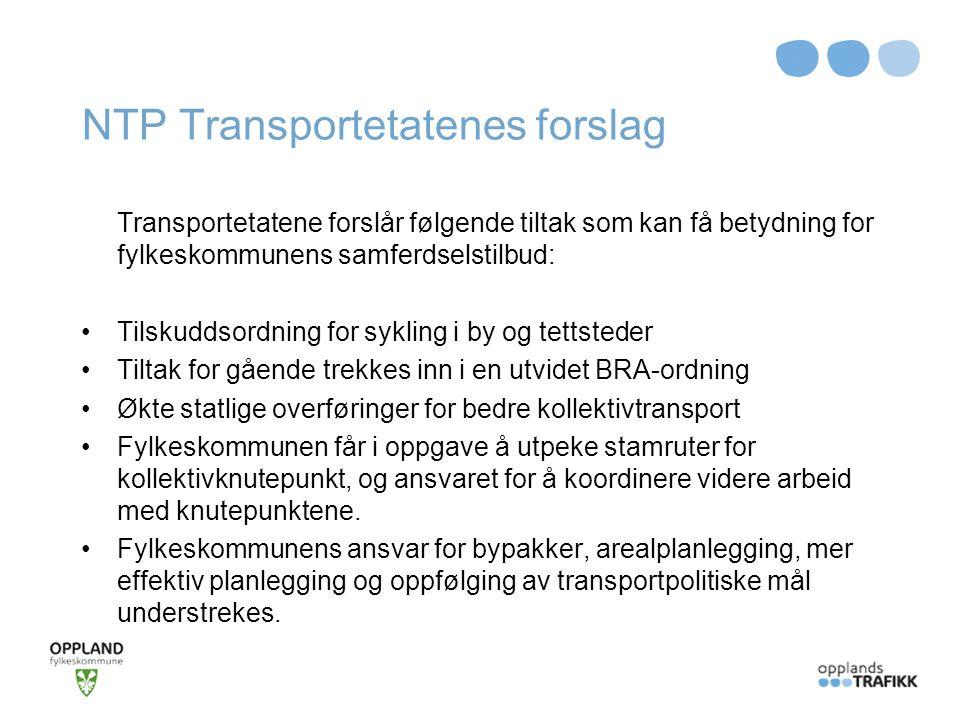 NTP Transportetatenes forslag