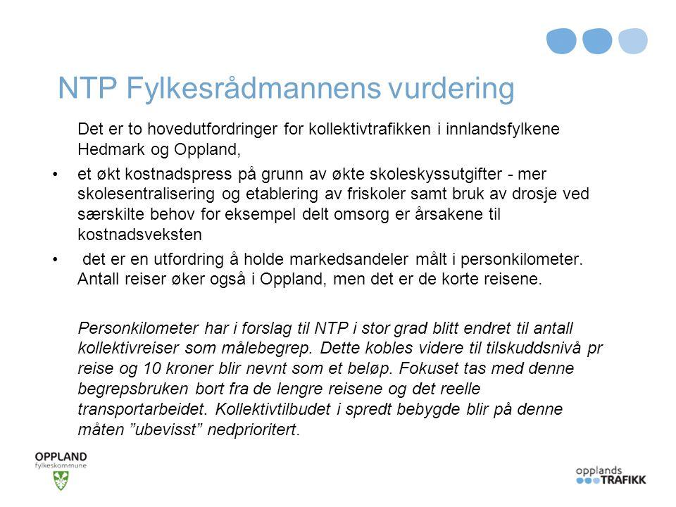 NTP Fylkesrådmannens vurdering