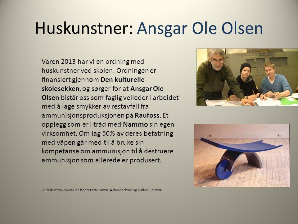 Huskunstner: Ansgar Ole Olsen