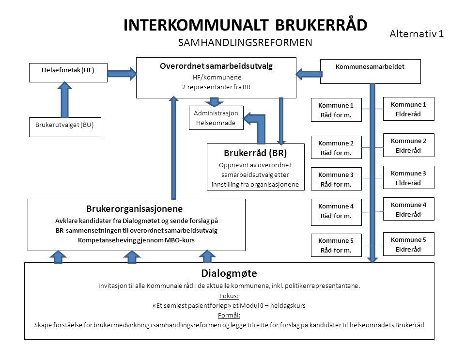 INTERKOMMUNALT BRUKERRÅD