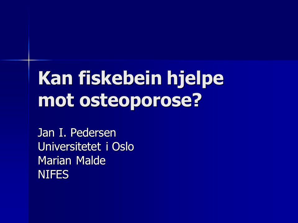 Kan fiskebein hjelpe mot osteoporose