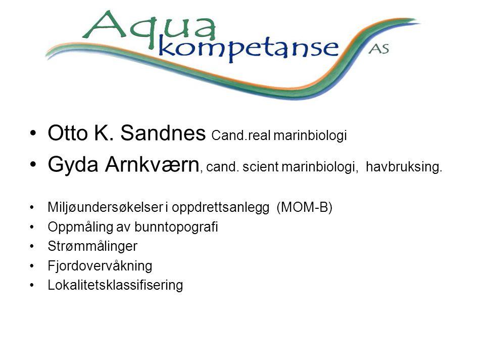 Otto K. Sandnes Cand.real marinbiologi