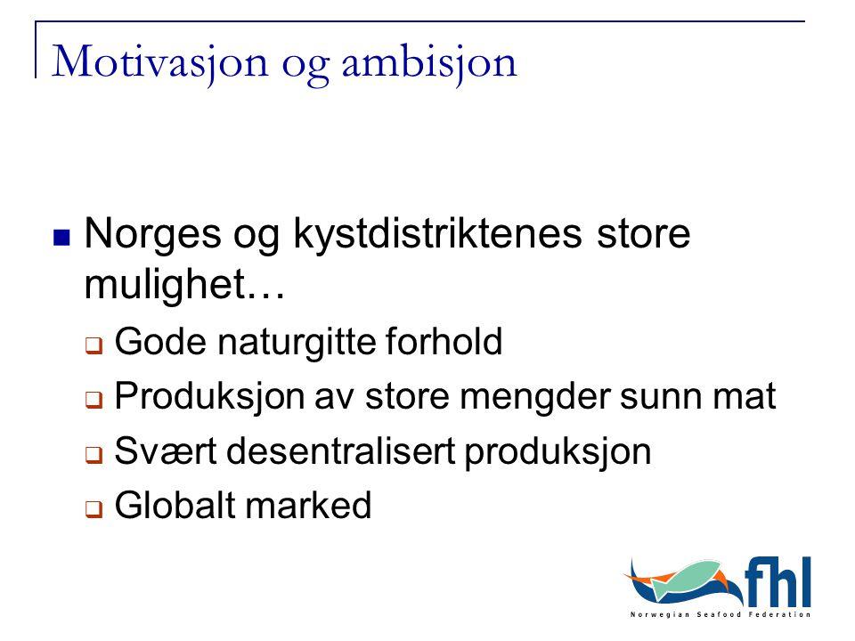 Motivasjon og ambisjon