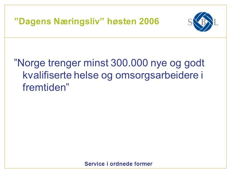 Dagens Næringsliv høsten 2006