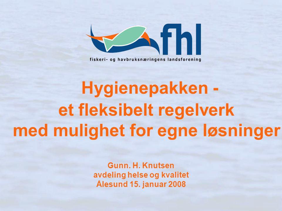 Gunn. H. Knutsen avdeling helse og kvalitet Ålesund 15. januar 2008