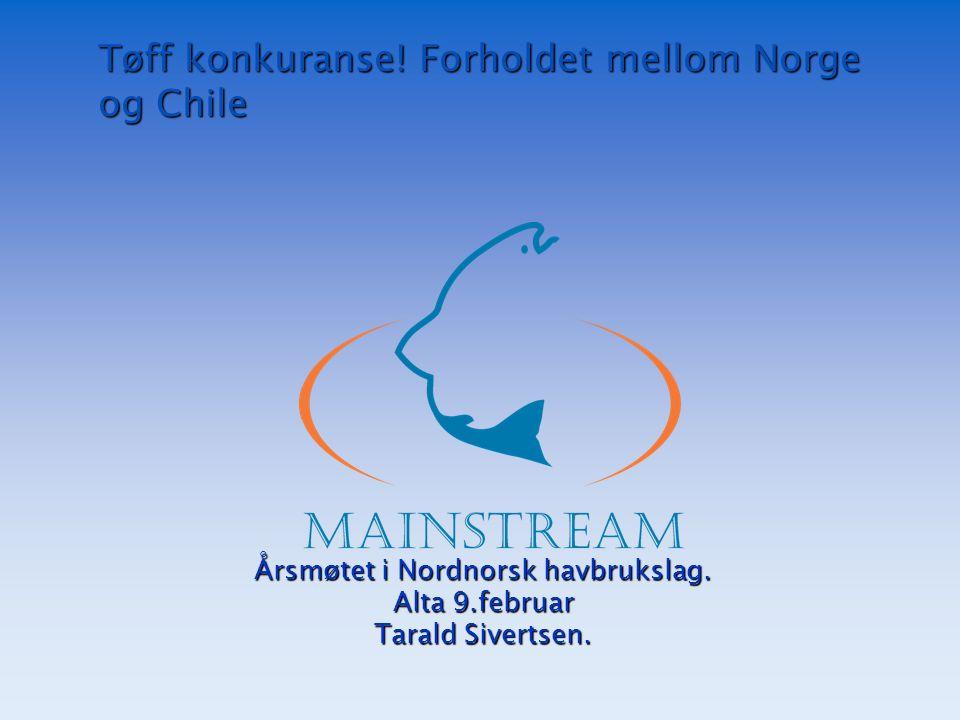 Tøff konkuranse! Forholdet mellom Norge og Chile