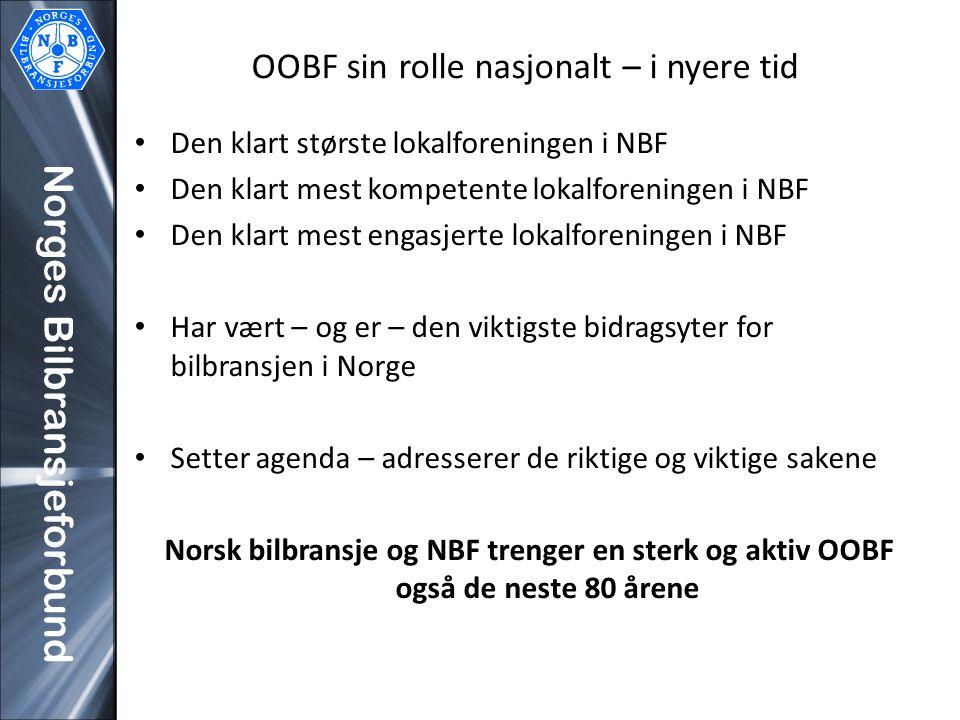 OOBF sin rolle nasjonalt – i nyere tid