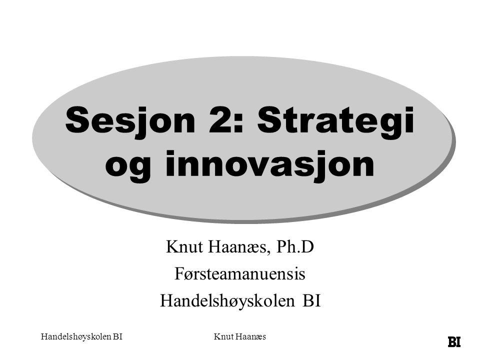 Sesjon 2: Strategi og innovasjon