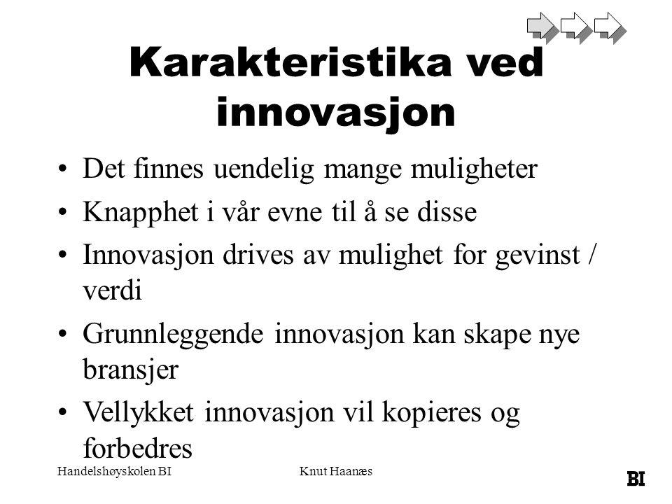 Karakteristika ved innovasjon