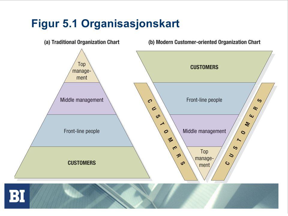 Figur 5.1 Organisasjonskart