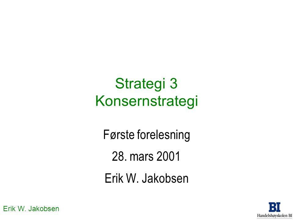 Strategi 3 Konsernstrategi