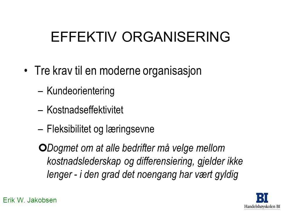EFFEKTIV ORGANISERING