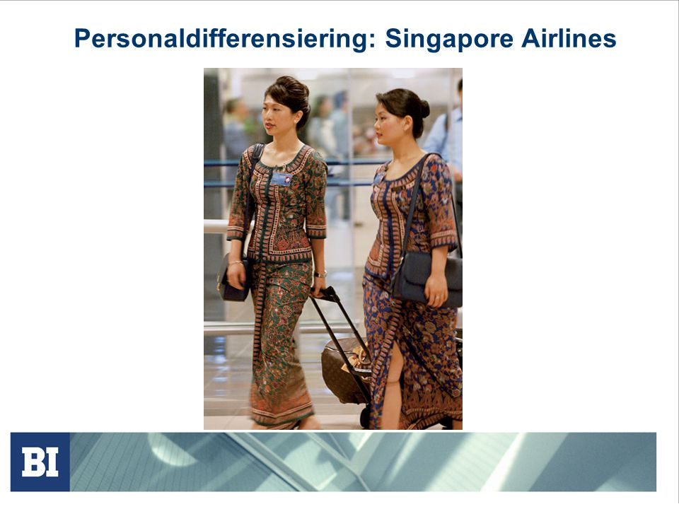 Personaldifferensiering: Singapore Airlines